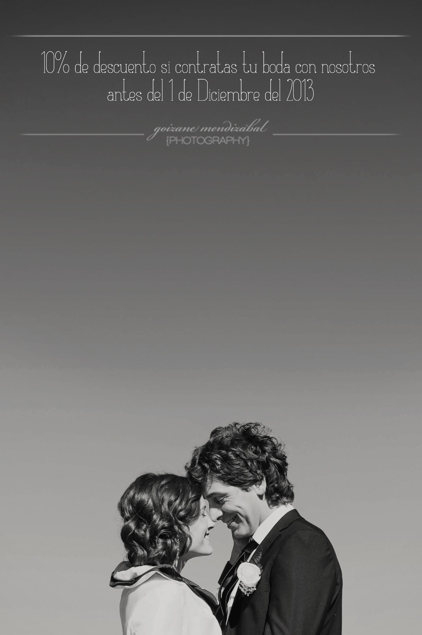 Promoción para las bodas del 2014