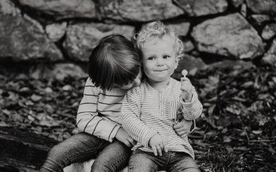 Alain y Aiert, reportaje de fotografía infantil