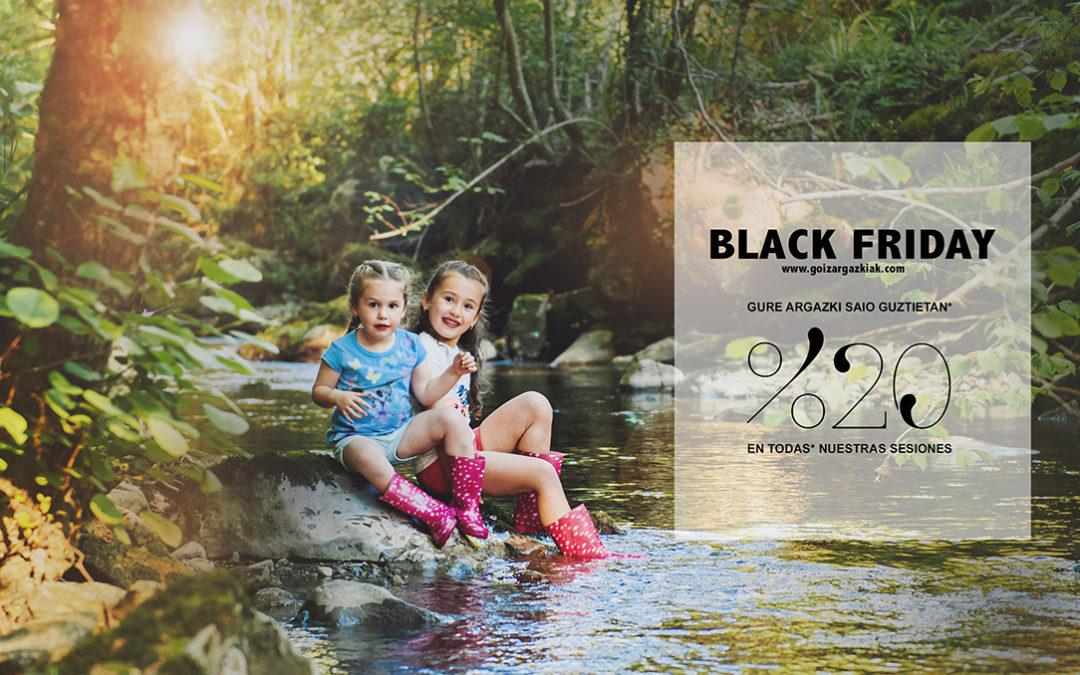 BLACK FRIDAY, Descuentos en sesiones de fotos